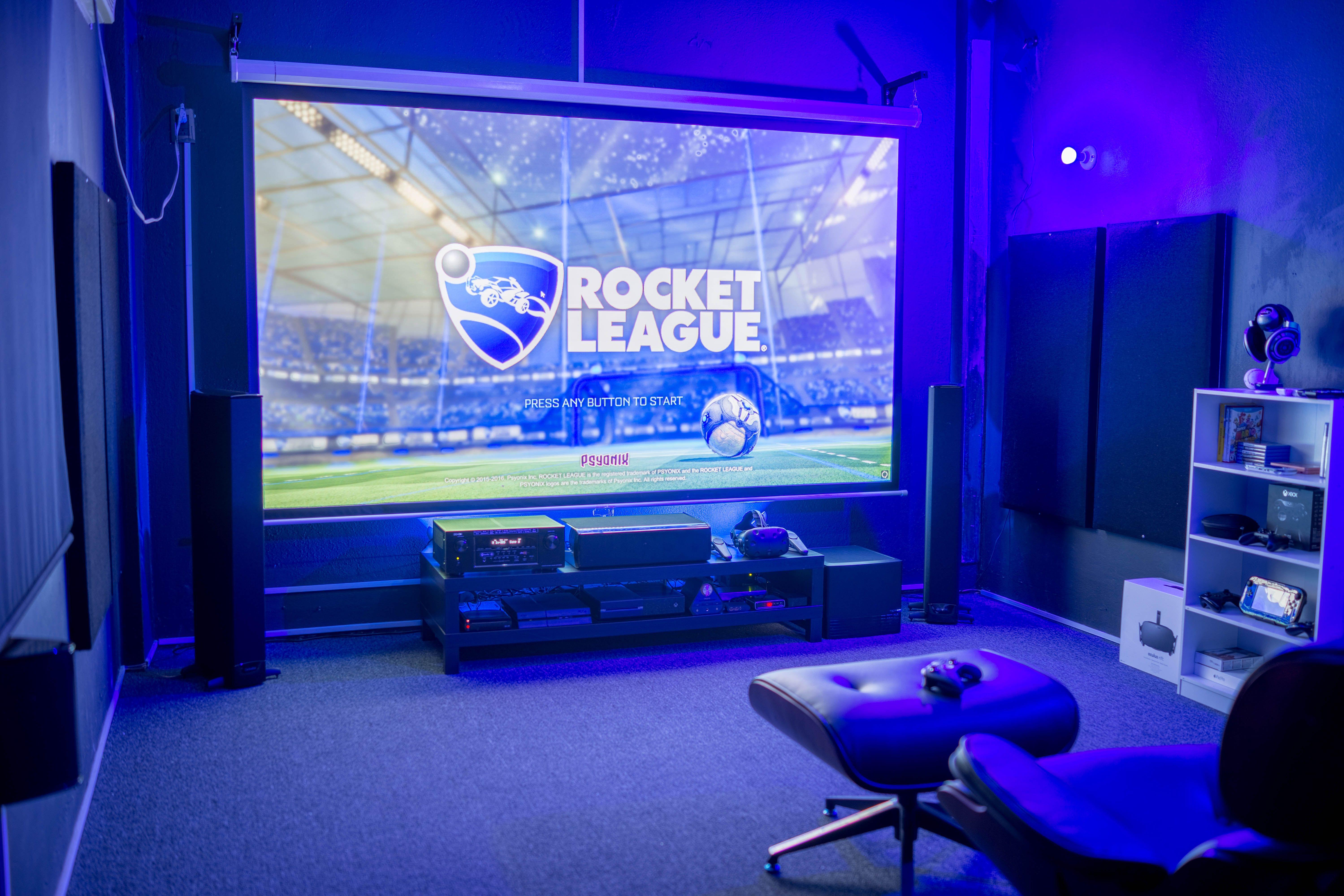 4k 1080p Vr Battlestation Video Game Rooms Game Room Design Gaming Room Setup