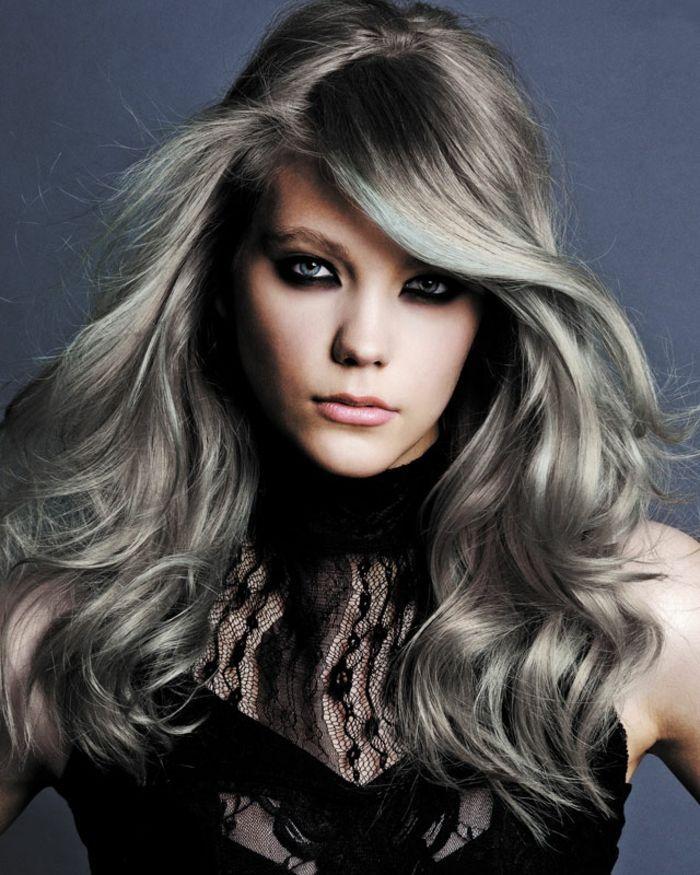 id e coiffure description coloration cheveux gris cendr. Black Bedroom Furniture Sets. Home Design Ideas