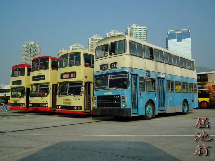 hongkong old buses
