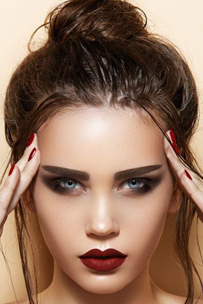 Remarkable 1000 Images About Buns Bun Hairstyles On Pinterest High Bun Short Hairstyles Gunalazisus