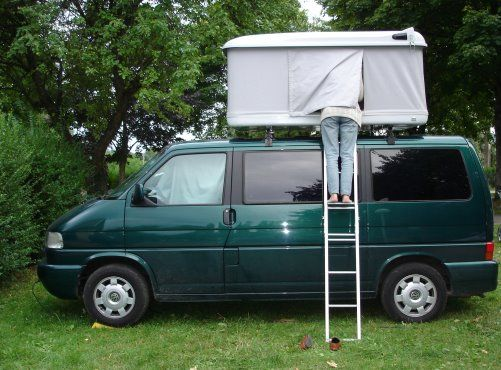 A comfortable Volkswagen van and a cozy Autohome roof top tent. & A comfortable Volkswagen van and a cozy Autohome roof top tent ...