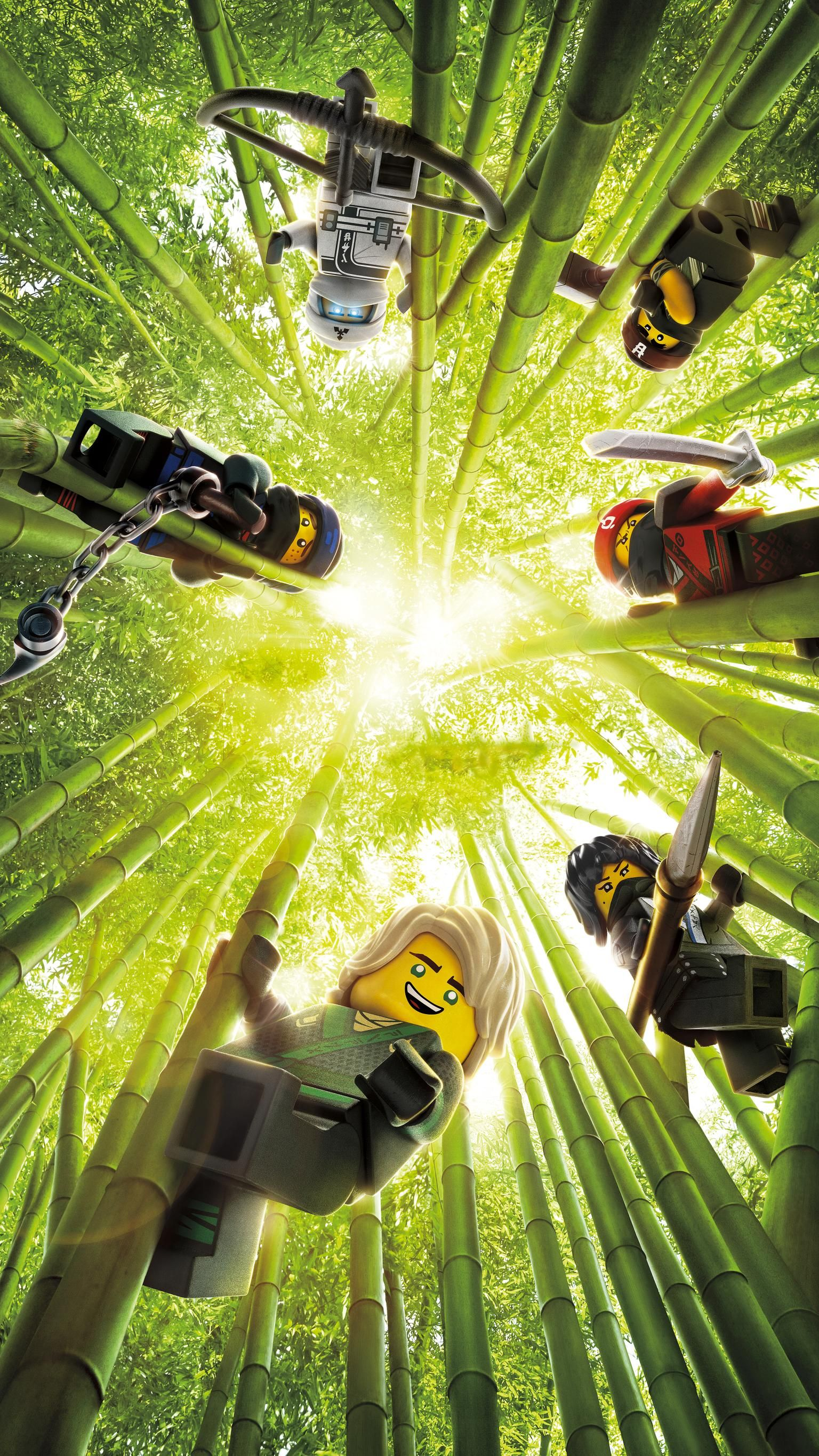 The Lego Ninjago Movie 2017 Phone Wallpaper Lego Wallpaper