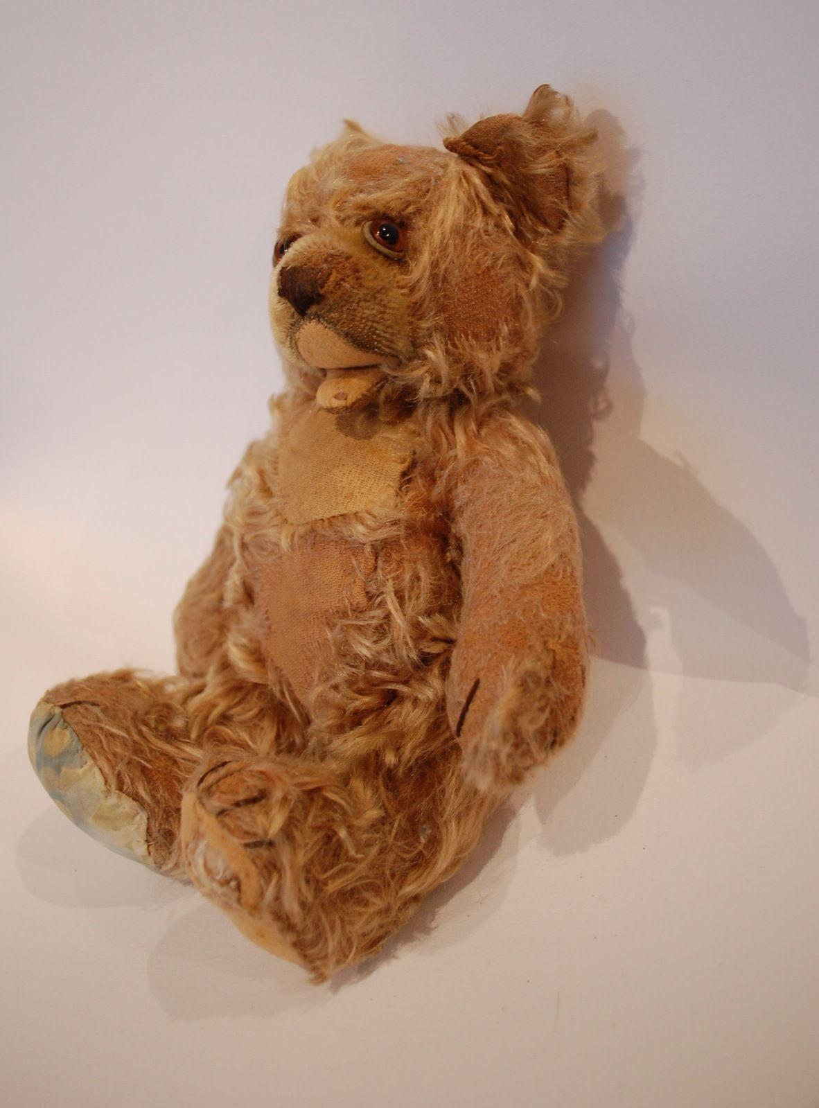 ours en peluche articul ancien steiff hermann old teddy bear ebay teddy bears pinterest. Black Bedroom Furniture Sets. Home Design Ideas