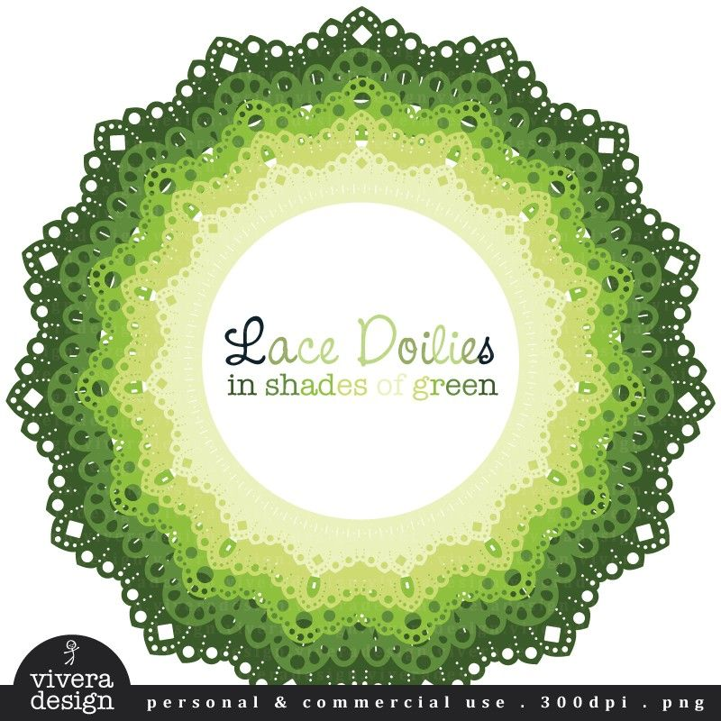 digital clip art circle frames lace doilies in by viveradesign 480 usd via etsy