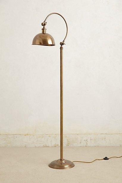 Oswald floor lamp anthropologie com modern apartmentsloft