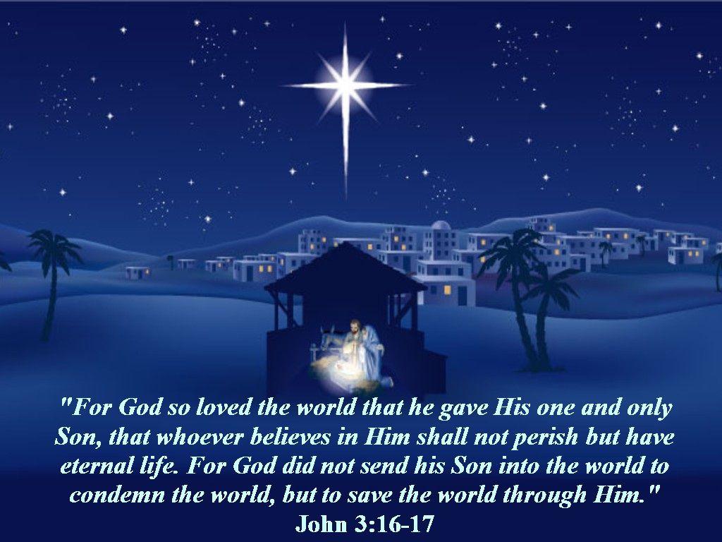 John 3:16   Christian \