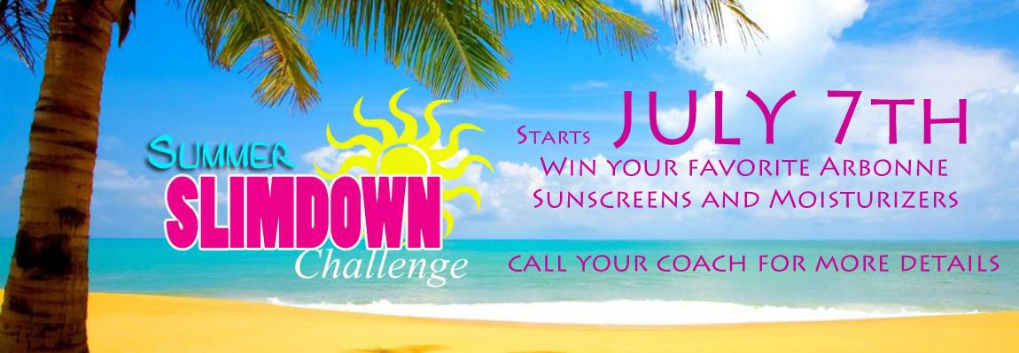 We are starting our 2nd Summer Slim Down Challenge on July 7th - If you would like to join us - give me a buzz or email 415 860 4698 364DaysofHealthyEating@gmail.com