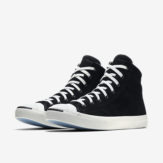a29e11e38e8c3a Converse Jack Purcell Jack Suede High Top Unisex Shoe Mens Fashion Shoes