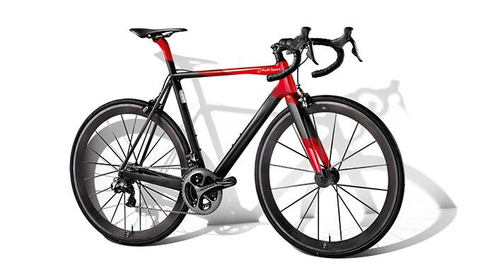 Audi Sport Racing Bike, black/red 3161500010 > Audi collection.