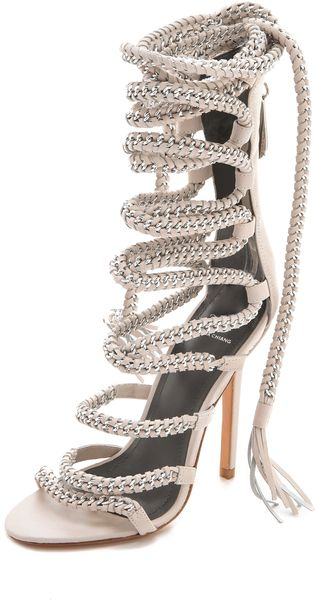 af7cb2a6ced Who loves me enough to buy me these monika chiang - imena lace-up sandals !   I need them in my life! They re only  495... I need a job lol