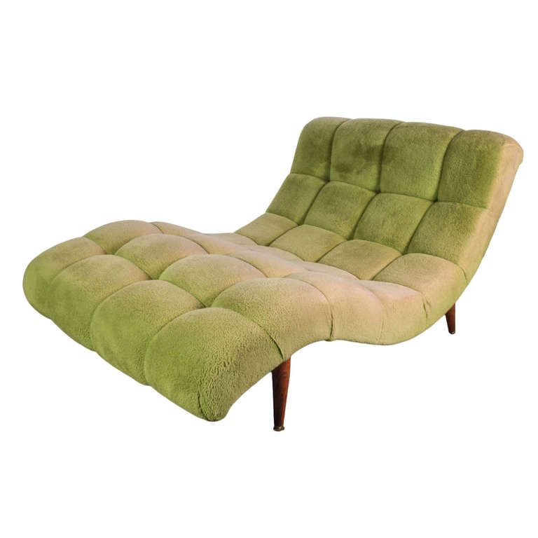 Modernist Wave S Curve Lounge Chair Chaise Adrian Pearsall