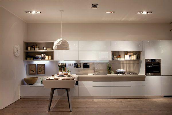 Cucine moderne: oltre l\'estetica - LivingCorriere | Modern kitchen ...
