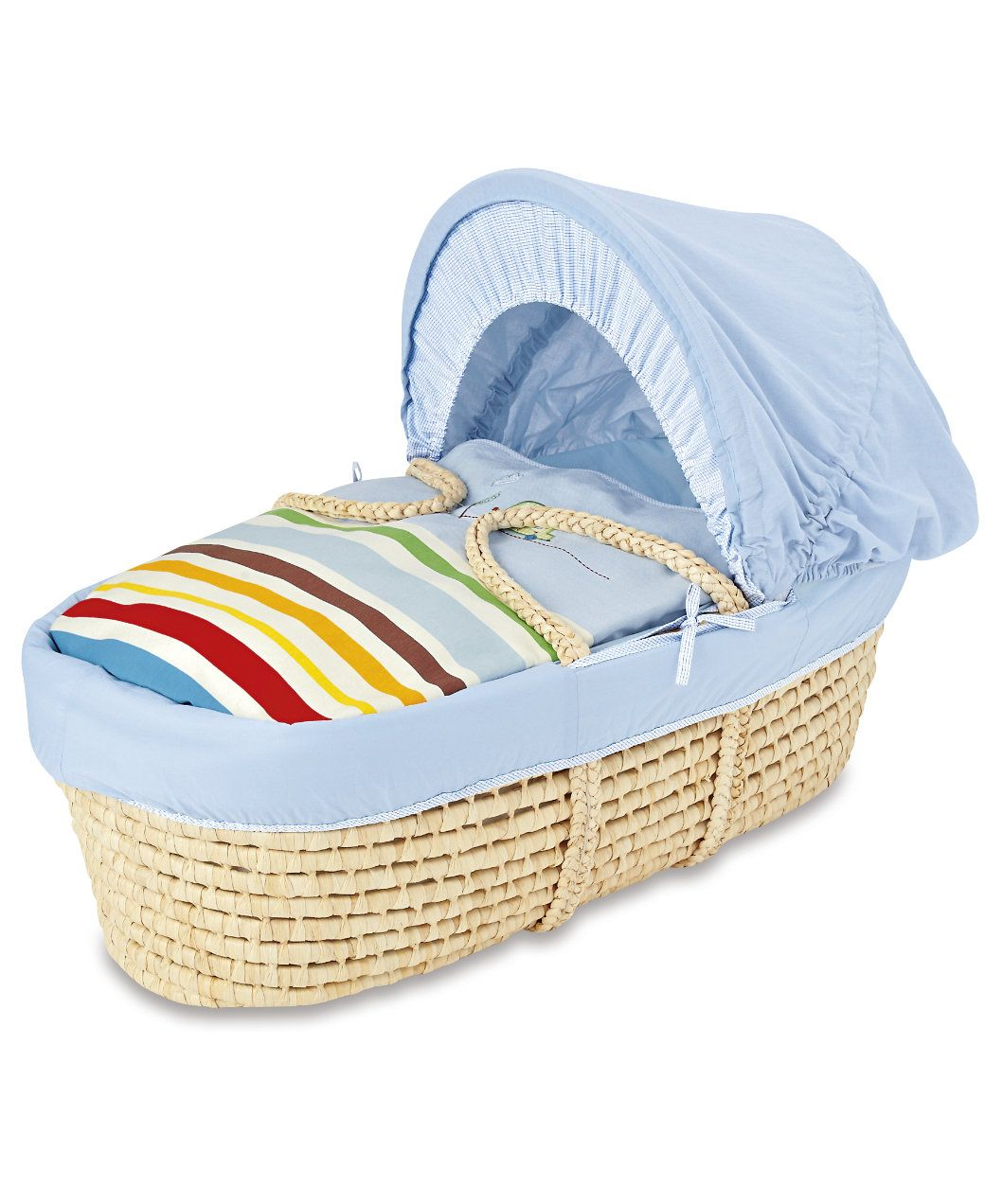 Wicker crib for sale durban - Mothercare Happy Town Moses Basket