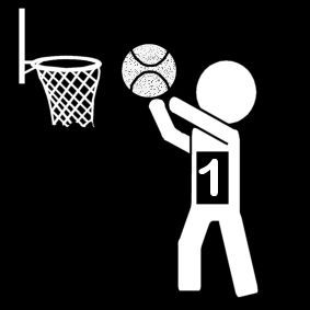 Pictogram Basketbal Competitie Pictogram Stick Figures Basketball