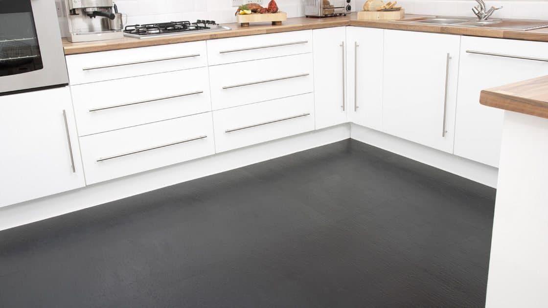 Rubber Flooring As Popular Alternative For Your House Kitchen Flooring Rubber Flooring Kitchen Rubber Flooring