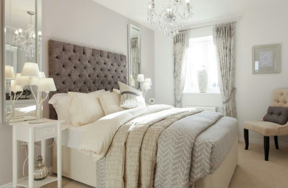 Interior Designed Guest Bedroom Showroom By Taylor