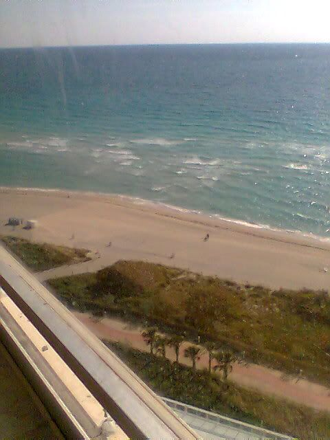 Miami Beach...love it, only when I have the proper amount of sunscreen