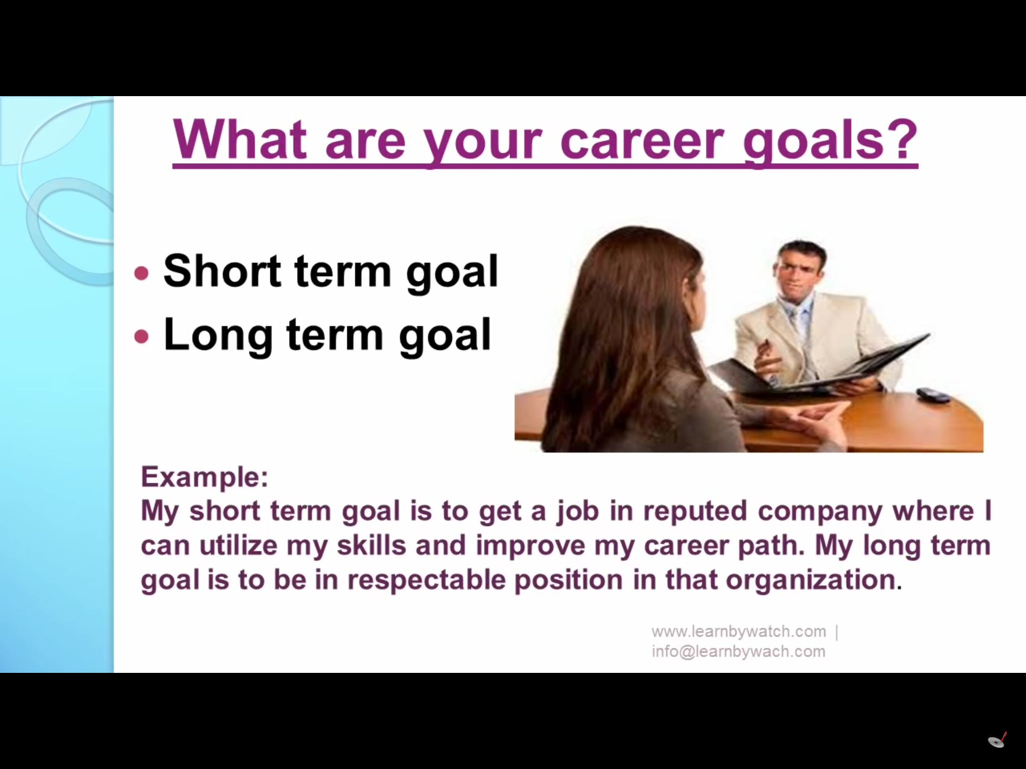10 Tricky Question During The Job Interview 9 Thi Or That Answers Short Term And Long Career Goal Essay