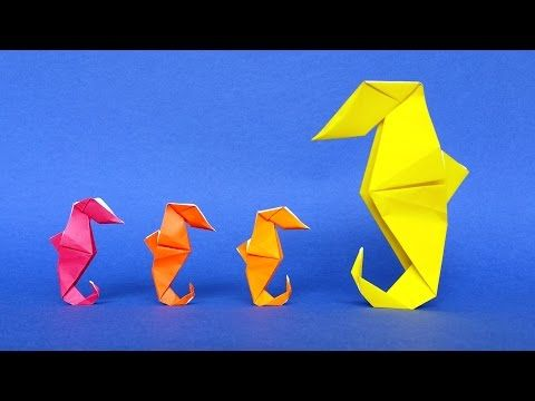 How To Make An Origami Seahorse Tutorial Stphane Gigandet