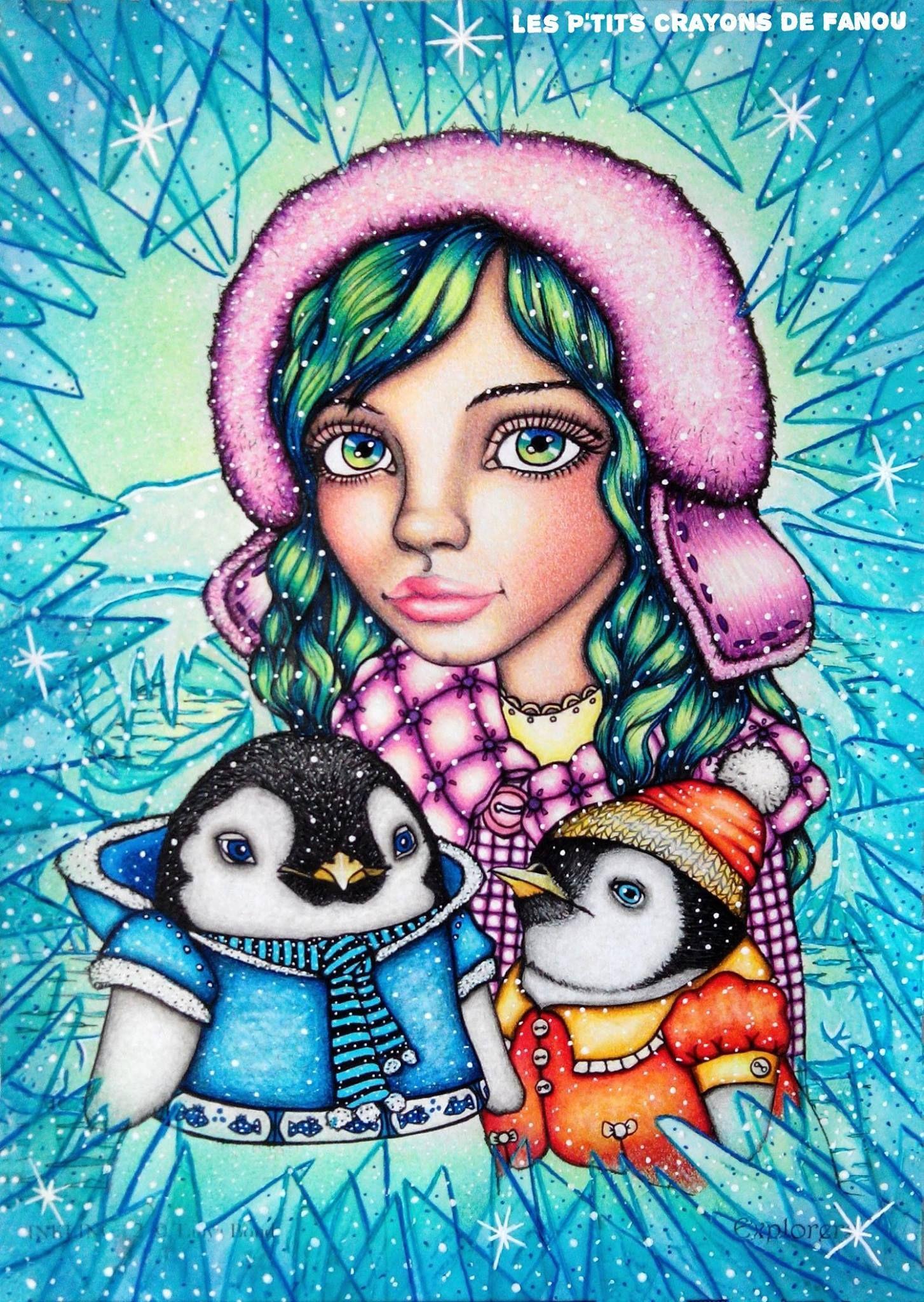 Coloriage Adulte Tuto.Coloriage Adulte Tutoriel Coloring Fun Coloring Books Coloring