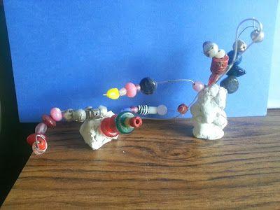 Wire Sculpture   reggio inspired