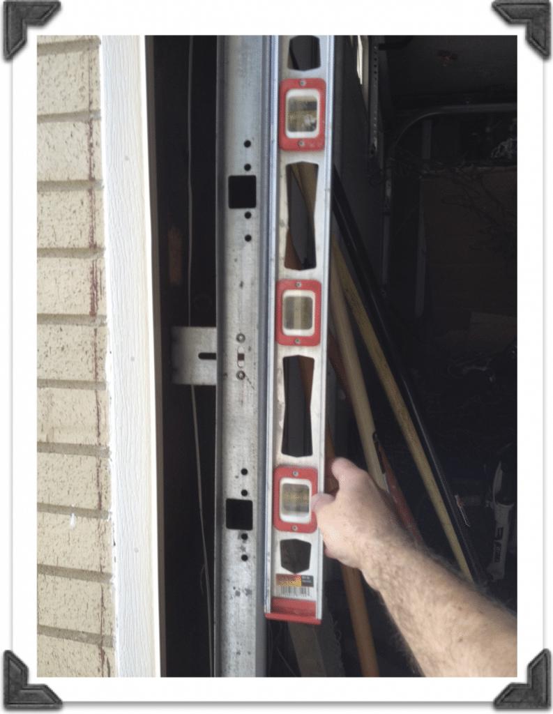 Plumb Garage Door Track Garage Door Track Garage Door Maintenance Garage Doors
