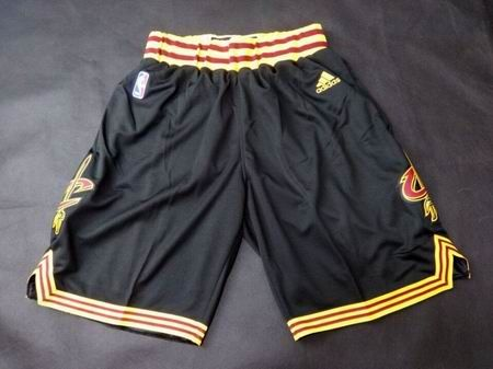 Cleveland Cavaliers black shorts | Cheap NBA Basketball Sports ...