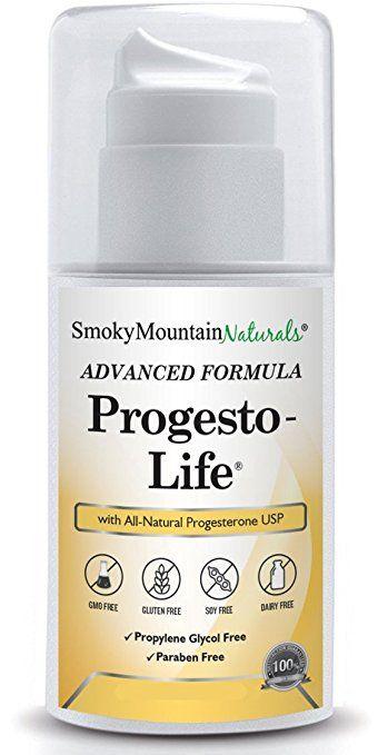 Paraben-Free) Natural Progesto-Life Cream (BIo-Identical USP