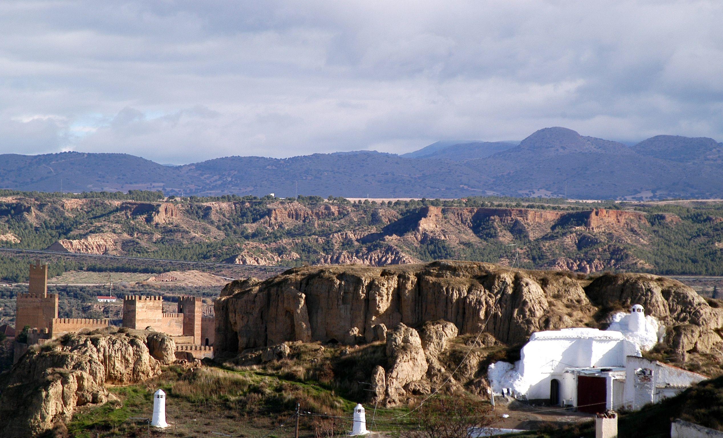 Pueblo de Guadix (Granada - España)