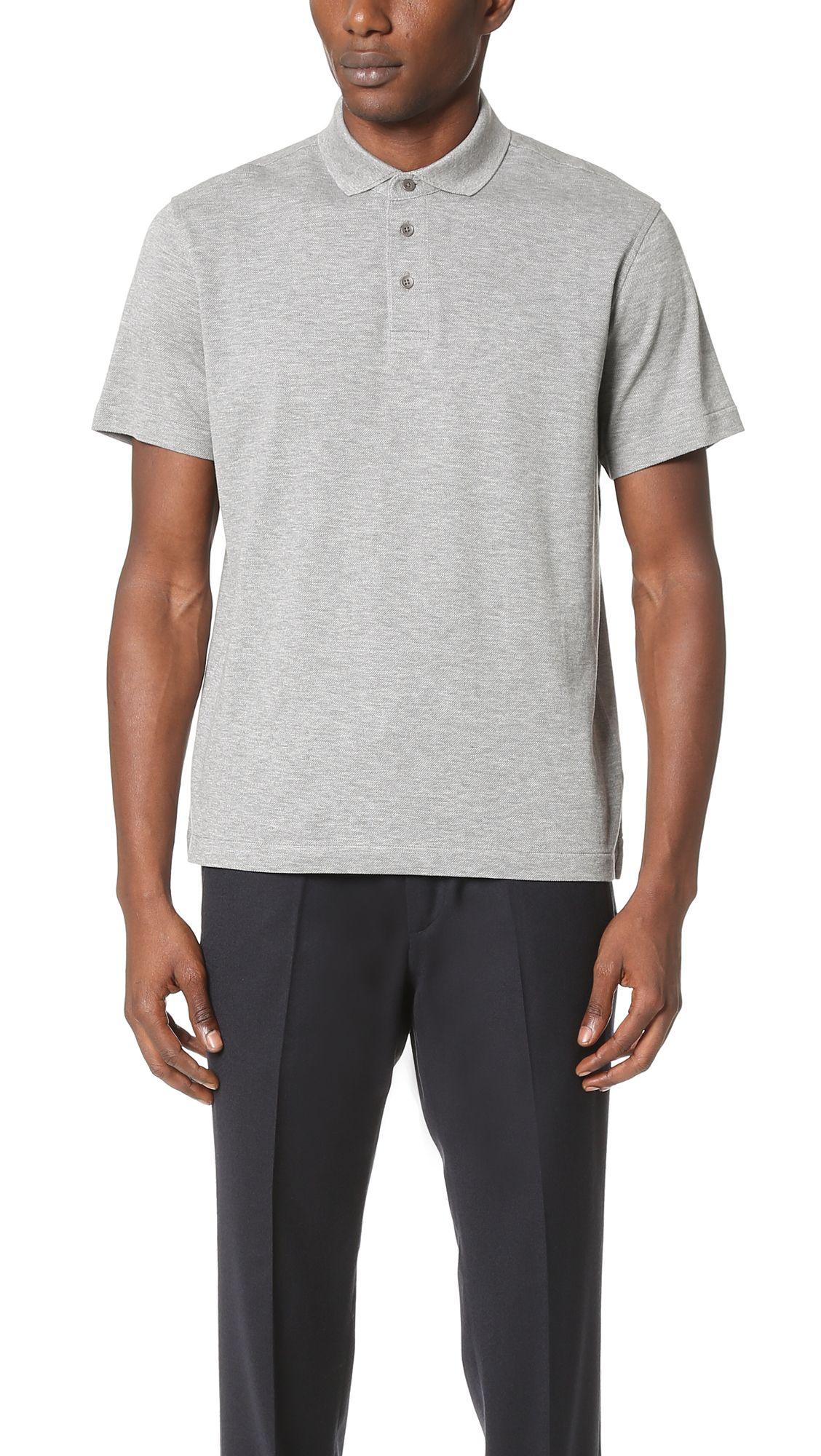fd761a3870 Z ZEGNA Pique Polo Shirt. #zzegna #cloth #shirt | Z Zegna Men ...