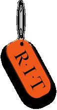 Wheelie Rit Logo Dog Tag Necklace Tag Necklace Necklace