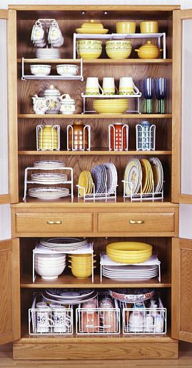 Dish organize Kitchen ideas Pinterest Organizing, Dishes and
