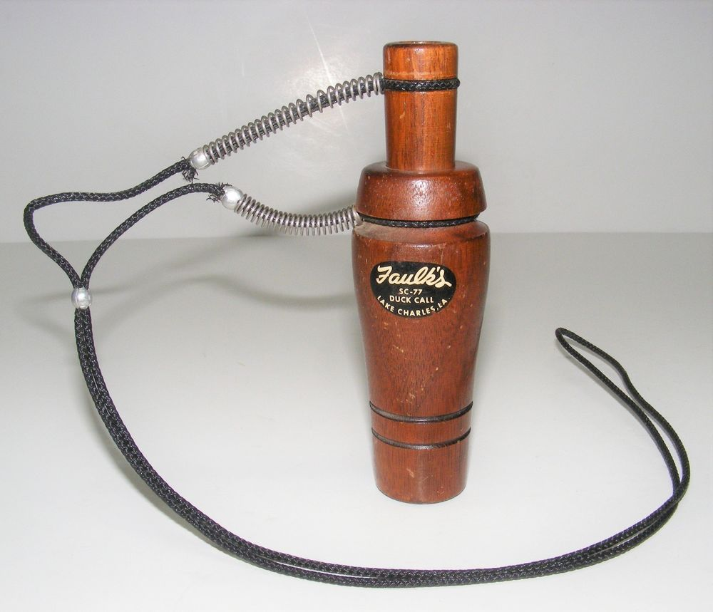 NEW Faulks Dual Reed Duck Call FREE SHIPPING