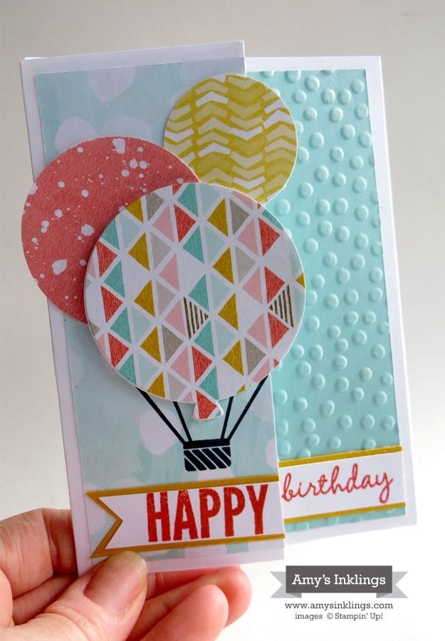 Birthday Card Making Ideas Video Part - 15: Balloon Birthday - Celebrate Today