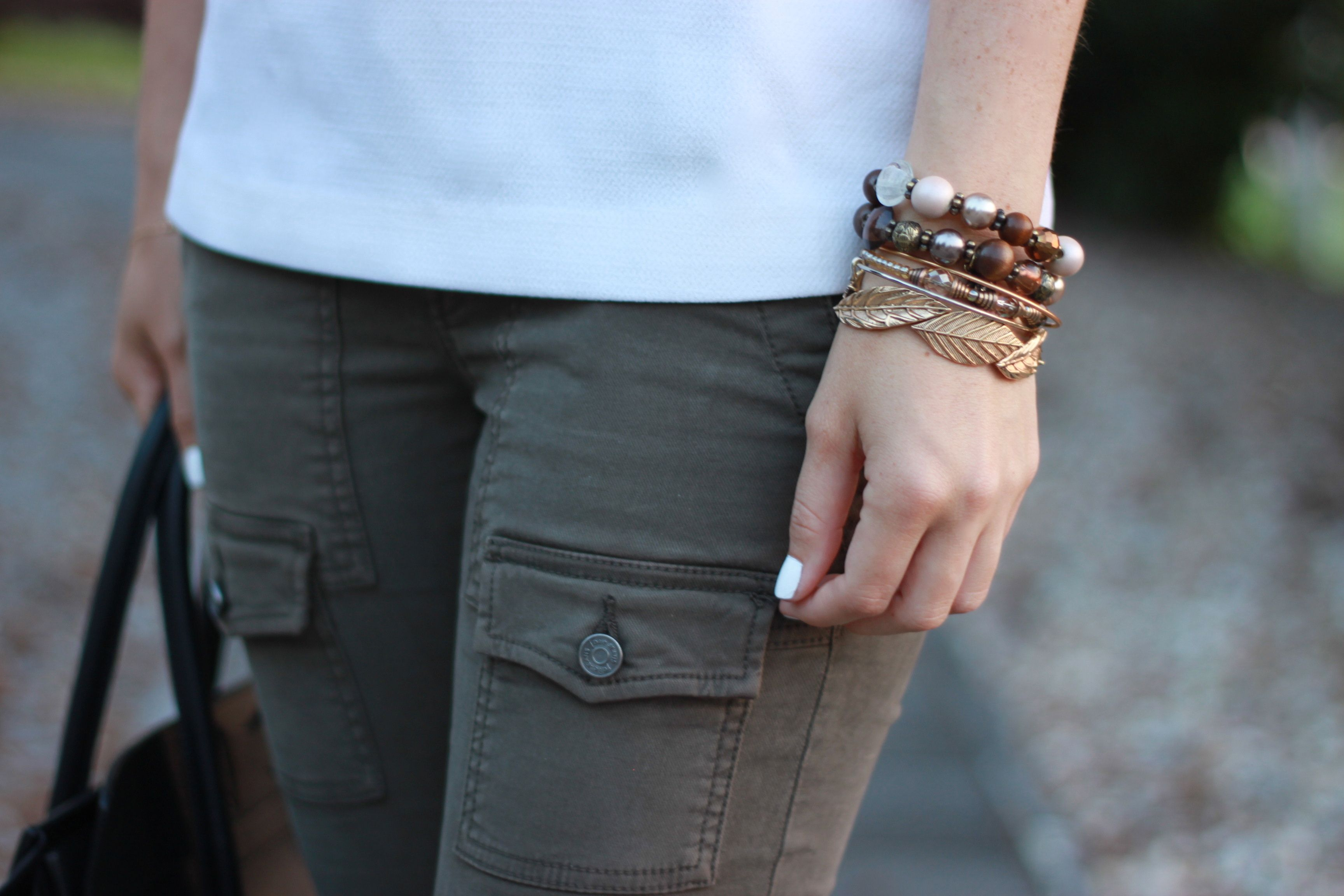 Oh So Glam: Joie Cargo Pants