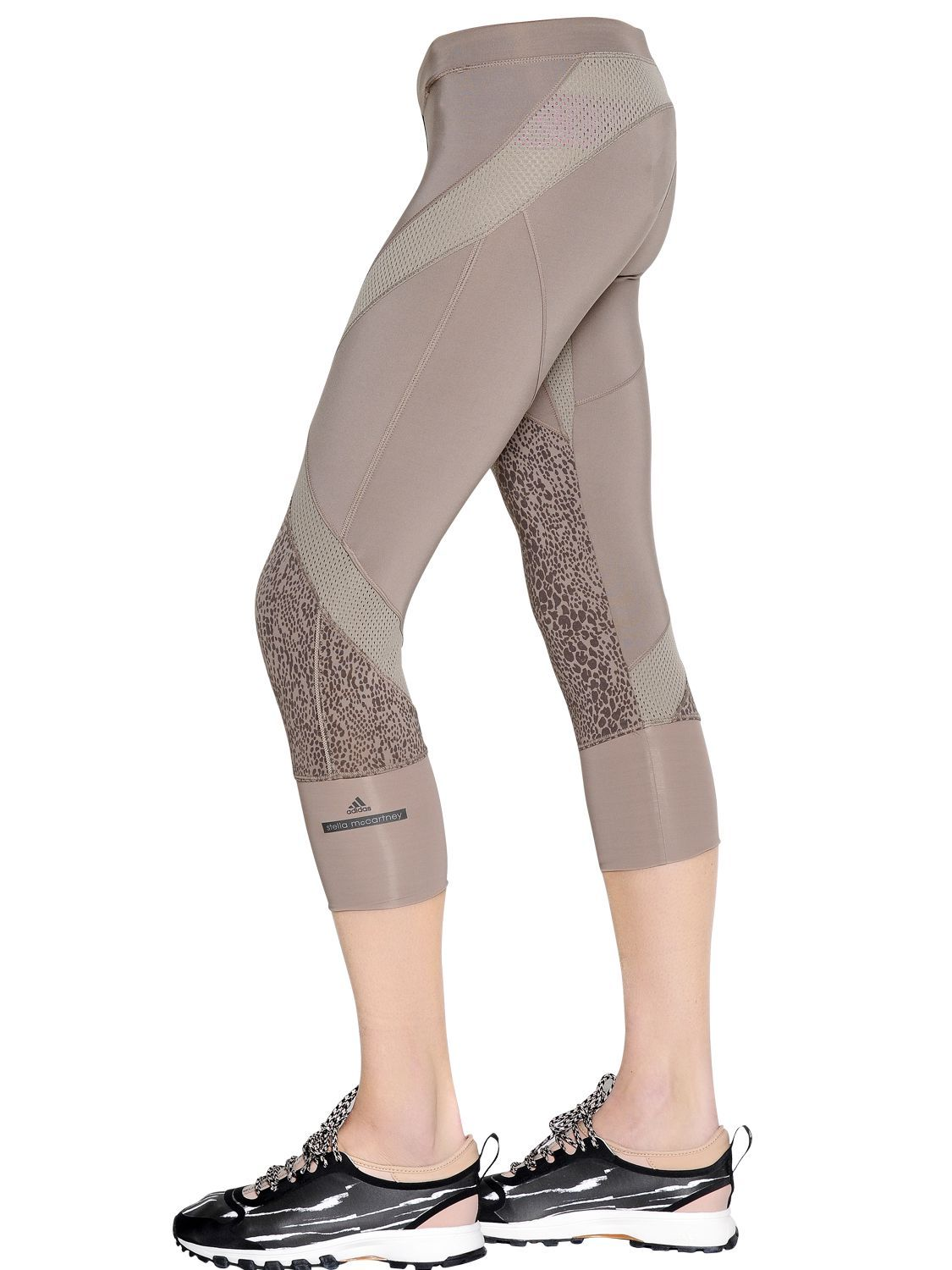 CAPRI MICROFIBER LEGGINGS - adidas by stella mccartney