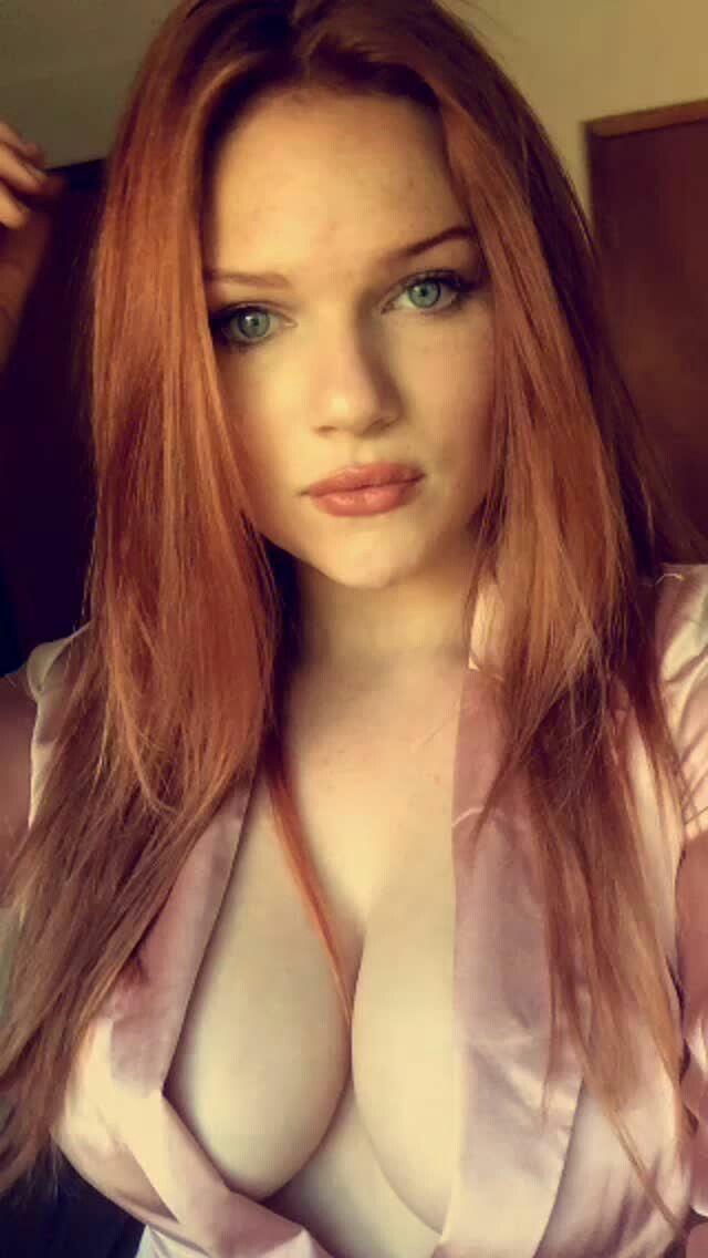 Redhead wig blowjobs