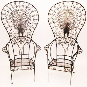 Peacock Garden Chairs