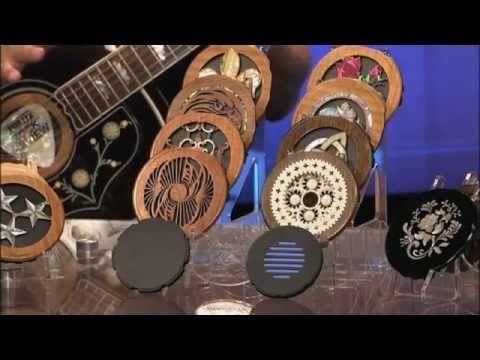 Lacuna Acoustic Art Custom Guitar Sound Hole Covers Accessories Guitar Acoustic Custom Guitar