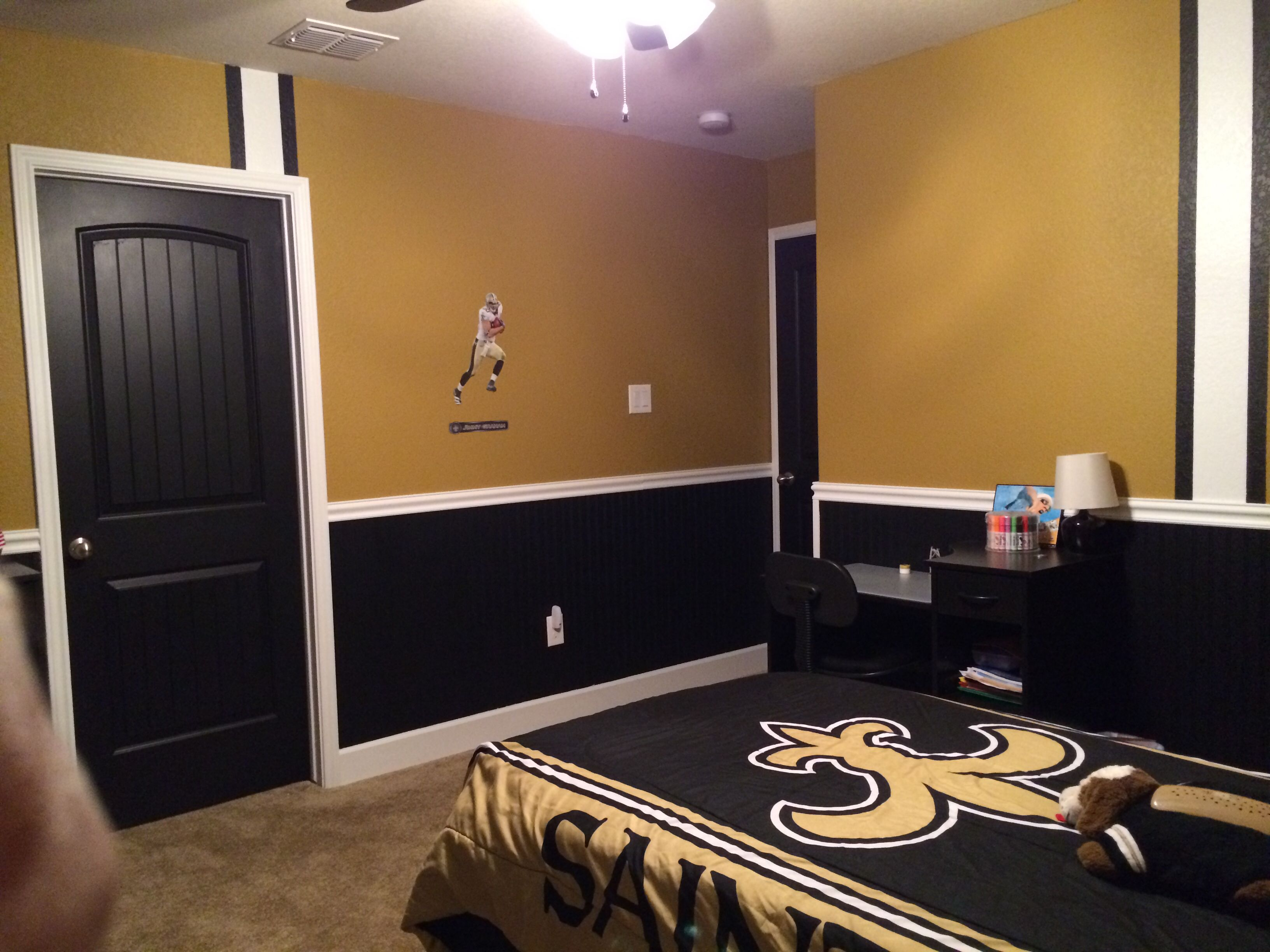 Nick S New Orleans Saints Room Geaux Saints New