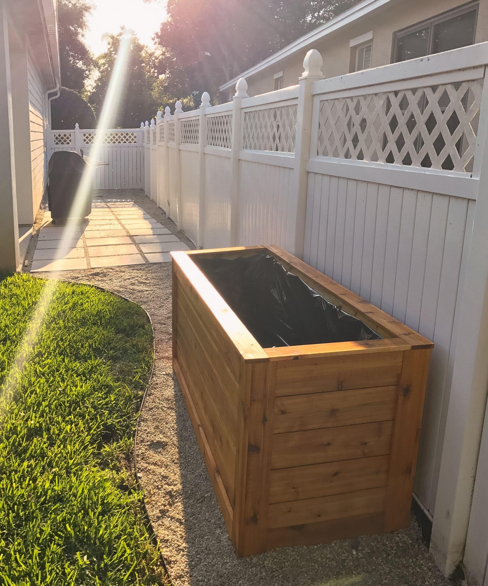 Backyard Diy Series Part Iiii Cedar Wood Planter Box 400 x 300