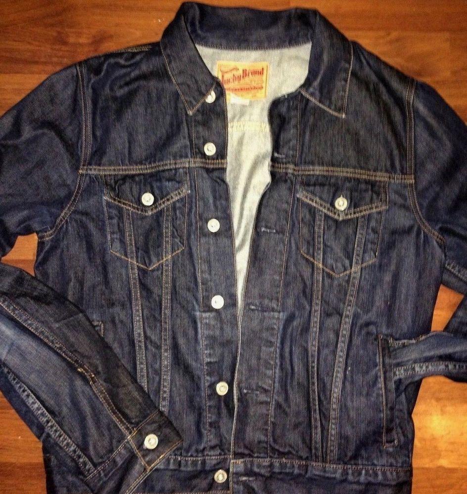 0c8f51aa90 Lucky brand men s denim jacket