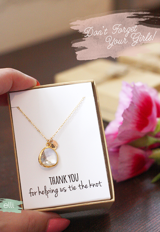 94fe40a6650 Bridesmaid Jewelry Your Girls Will Love - Ellinée journal | DIY Blog ...