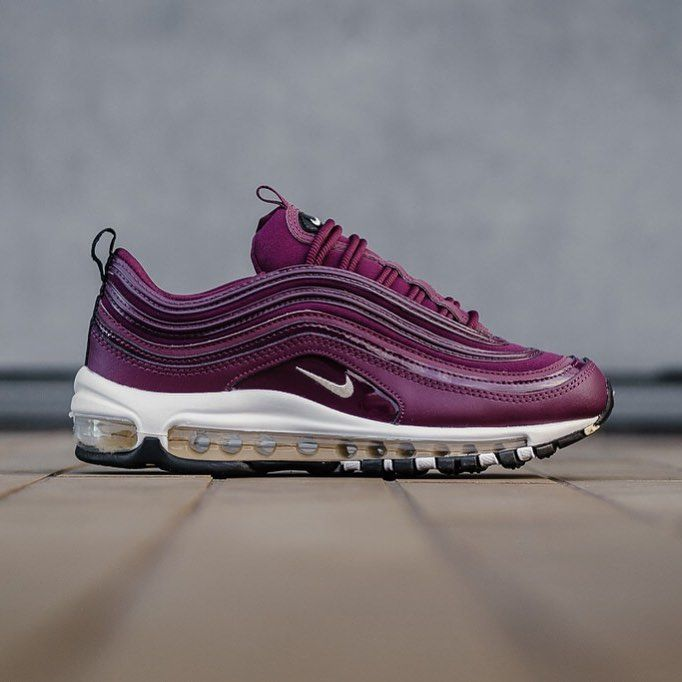 Nike Air Max 97 Premium Bordeaux Black Muslin 917646601