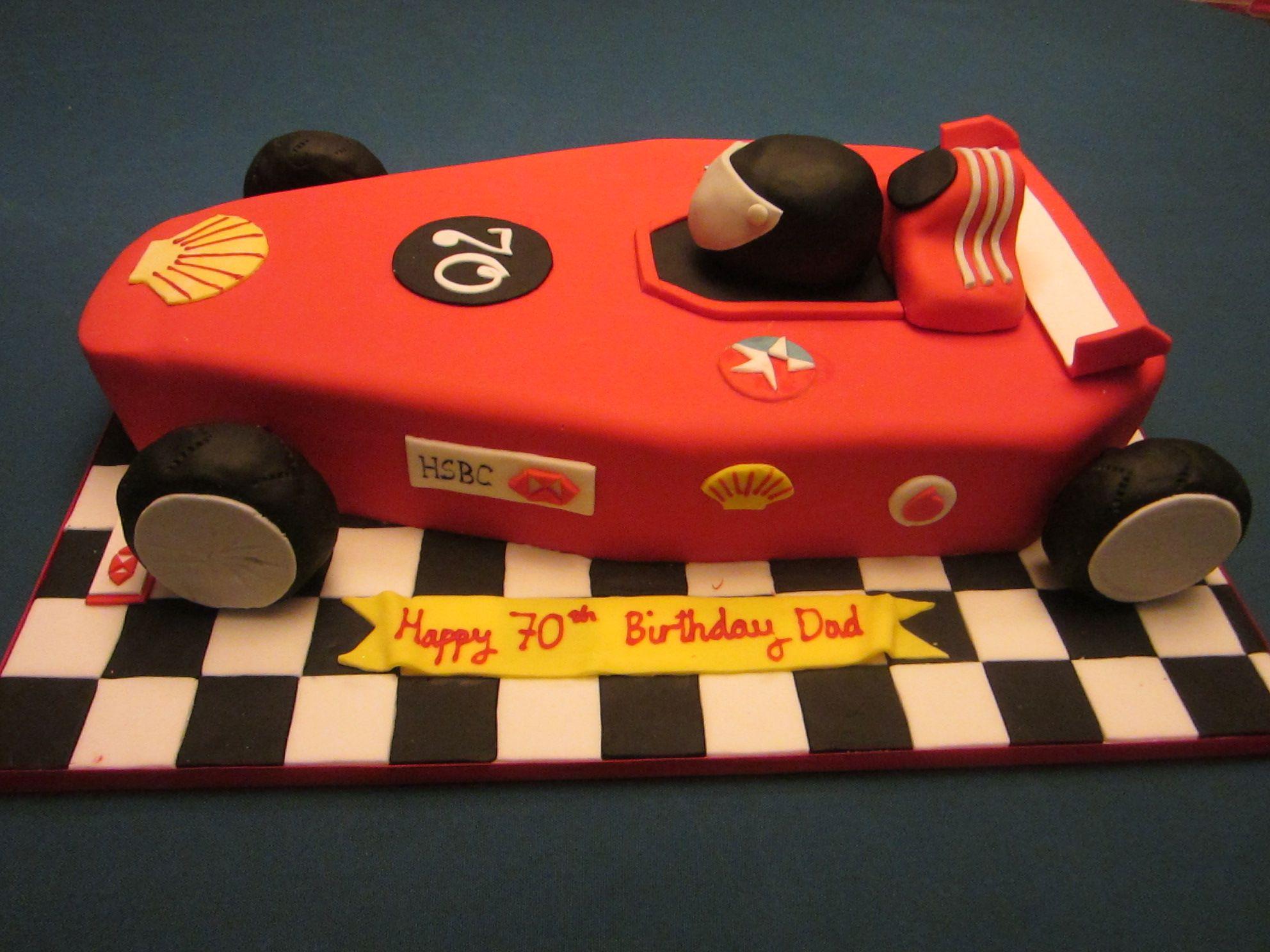 Formula 1 car. Just needs to be McClaren