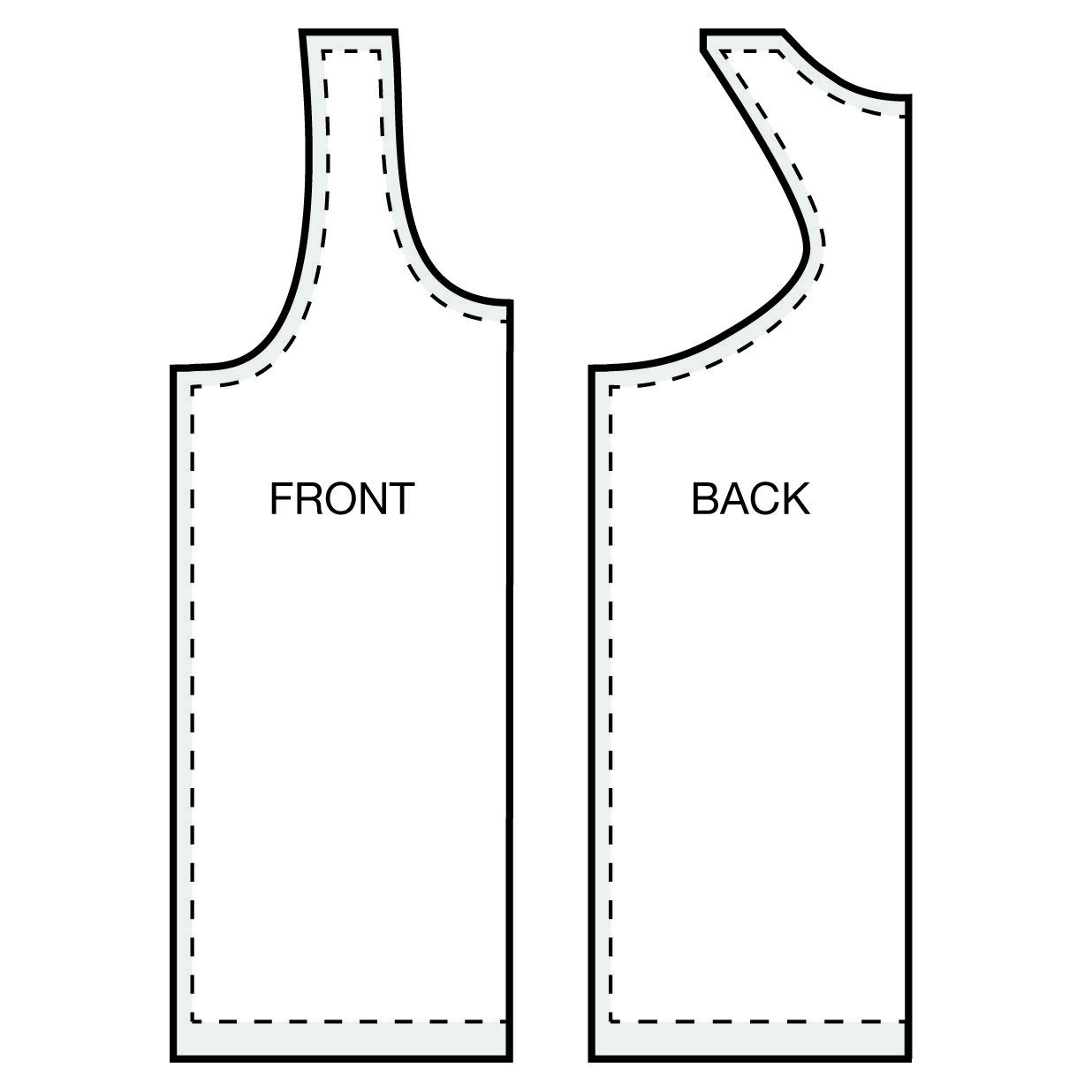 How To Make a Racer Back Tank Top | Receta | Pinterest | Costura ...