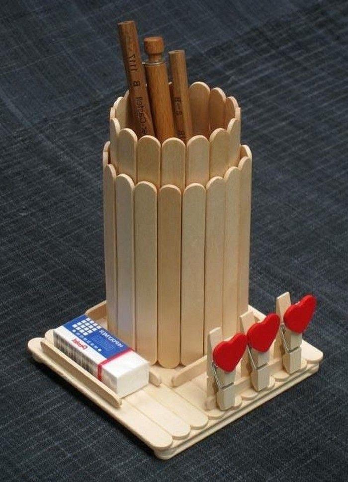 Crafts With Ice Cream Sticks