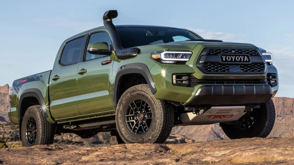 Army Green Is The 2020 Toyota 4runner S Best New Feature Toyota Tacoma Tacoma Truck Toyota 4runner