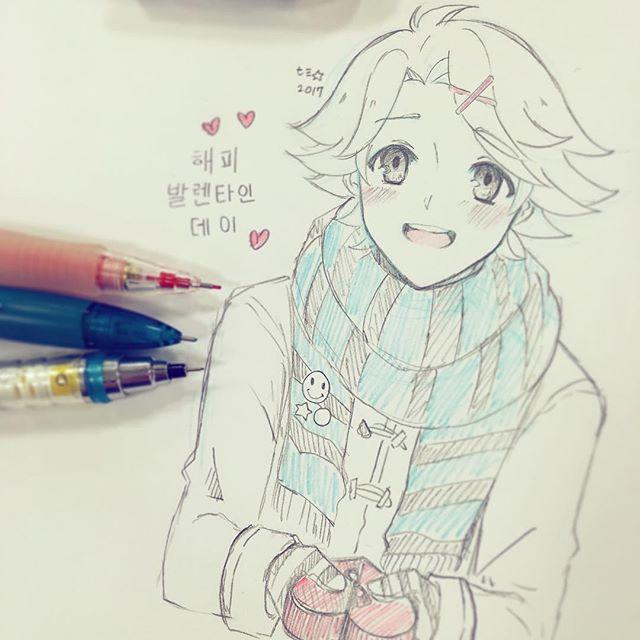 Doodle Doodle Doodle Quq Happy Valentines Day Everyone Handmade