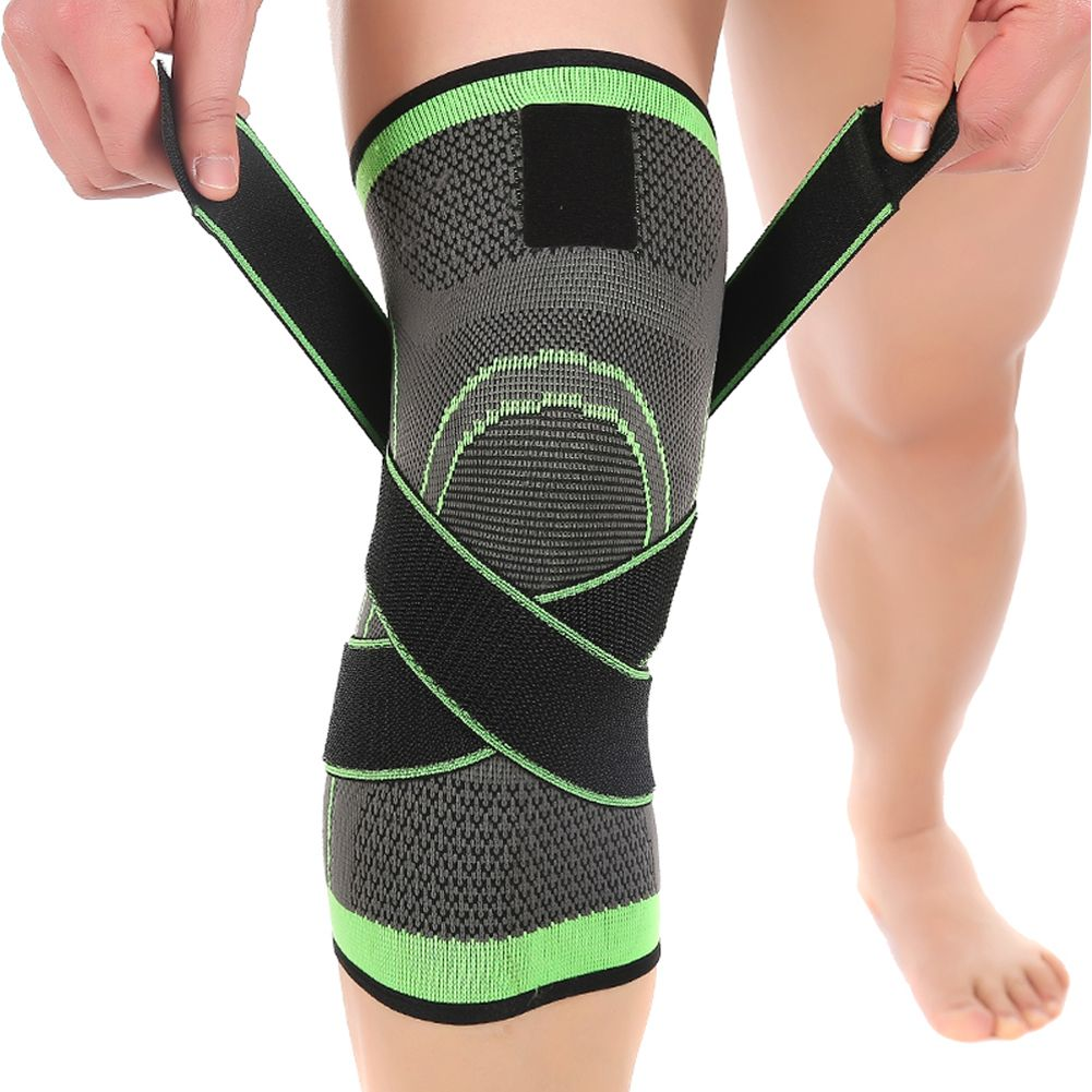 75dca370ef Heavy Duty Elastic Breathable Knee Support Sleeve Knee Brace for Sports,  Joint Pain Relief, Arthritis and Injury Recovery (Pack of 2)